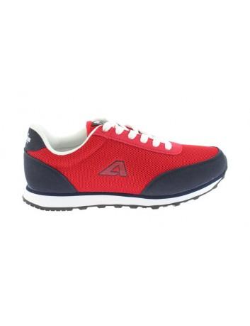 Młodzieżowy but sportowy American,kolor czerwony