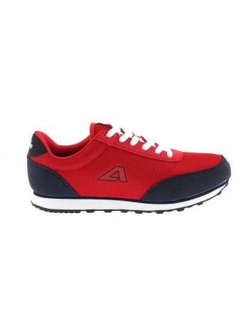 Sportowy but męski American,kolor czerwony