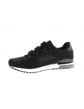 Sportowy but męski na rzepy American,kolor czarny