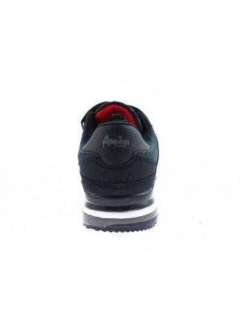 Sportowy but męski na rzepy American,kolor granat