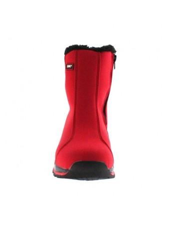 Śniegowce DK z membraną SOFT SHEL, Kolor czerwony