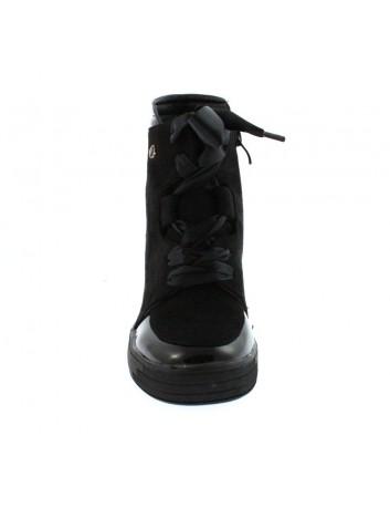 Sneakersy damskie Sergio Leone, Kolor czarny