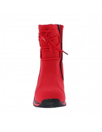 Śniegowce DK z membraną SOFT SHELL, Kolor czerwony