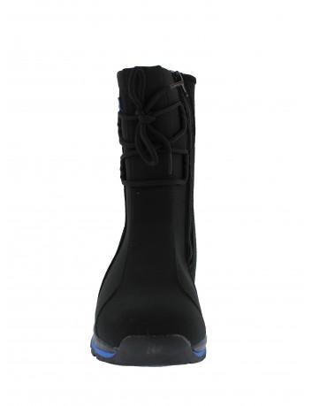 Śniegowce z membraną SOFT SHELL, DK Kolor czarny z niebieskim