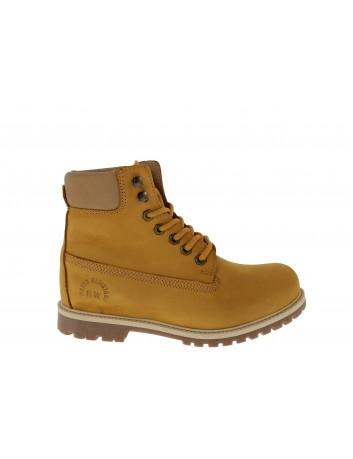 Trzewik damski BEST WALK, Kolor żółty