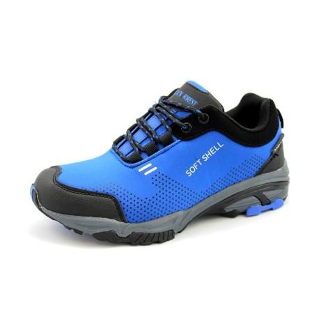 Trekingowy but młodzieżowy BLACK FOREST, Kolor niebieski