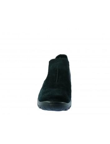 Botek -sztyblet damski zamszowy Rieker, Kolor czarny