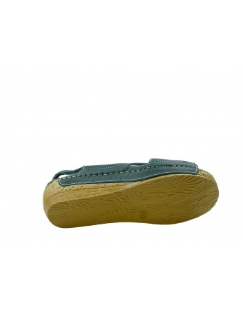 Skórzany komfortowy sandał damski T.Sokolski
