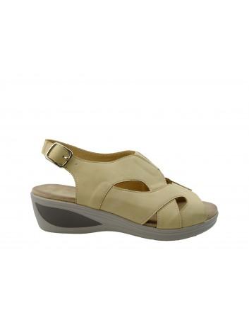Komfortowy sandał damski T.Sokolski, Kolor beżowy