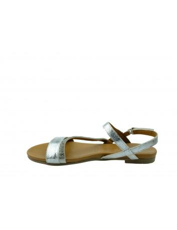 Skórzany sandał damski Tamaris