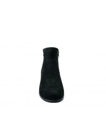 Skórzany botek damski ALP, Kolor czarny