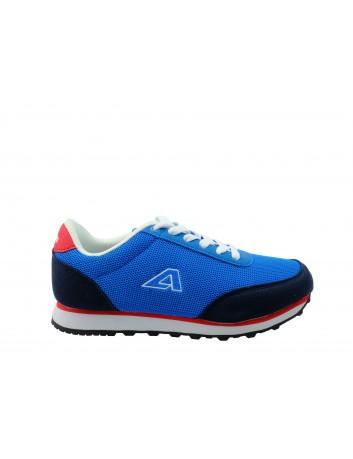 Młodzieżowy but sportowy American,kolor niebieski