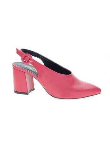 Sandał damski szpic na obcasie Filo Donna w kolorze czerwonym