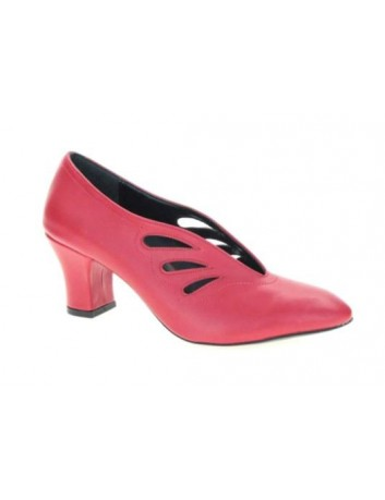 Czółenko damski szpic na obcasie Filo Donna w kolorze czerwonym