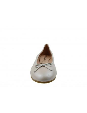 Balerina skórzana Tamaris1-22116-22B, Kolor perłowy
