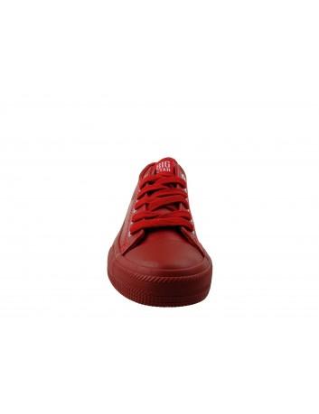 Trampki damskie BIG STAR V274872, Kolor czerwony