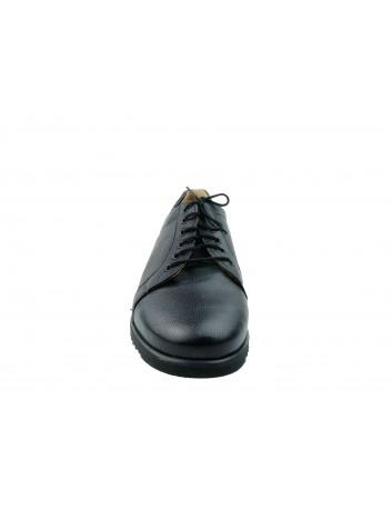 Półbut damski skórzany GL 2642 w kolorze czarnym