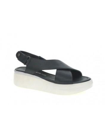 Sandały skórzane damskie ALP 2461 T.Sokolski, Kolor czarny