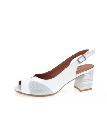 Sandały skórzane damskie ALP 2514  T.Sokolski, Kolor biały