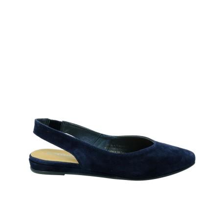 Skórzany sandał damski Tamaris1-29406-22N, Kolor granatowy