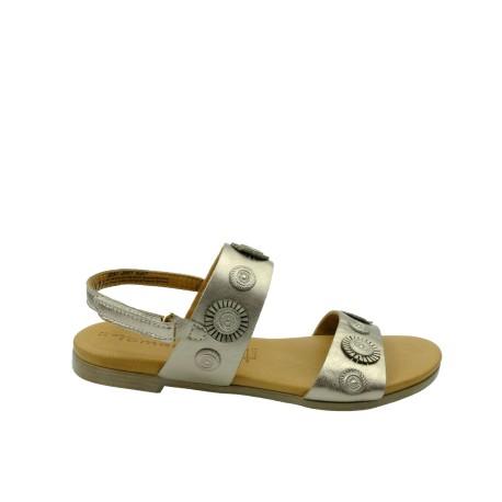 Sandał damski Tamaris 1-28125-22C,Kolor metaliczny brąz