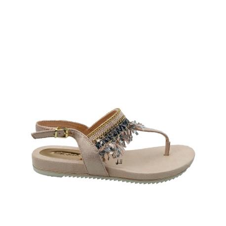 Sandał-japonka damskaTamaris 1-28105-22R,Kolor różowy
