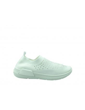 Sportowe obuwie wsuwane DK 1802, Kolor biały