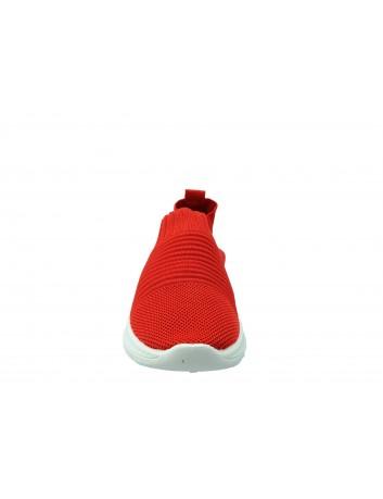 Sportowe obuwie wsuwane DK 1809, Kolor czerwony