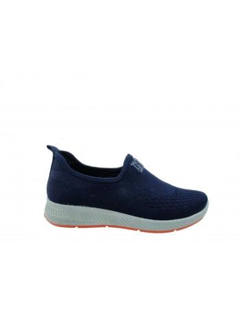 Sportowe obuwie wsuwane DK  0895001, Kolor granatowy