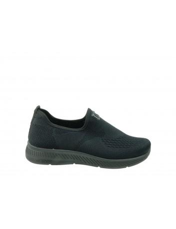 Sportowe obuwie wsuwane DK  0895001, Kolor czarny