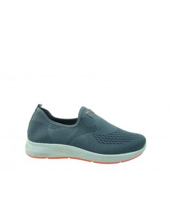 Sportowe obuwie wsuwane DK  0895001, Kolor ciemno szary