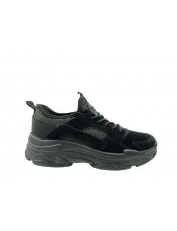 Sportowe obuwie DK 18601, Kolor czarny