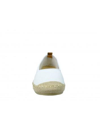 Espadryl VINCEZA 19-18400, Kolor biały