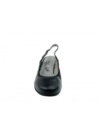 Sandały skórzane Axel 2381,Kolor czarny
