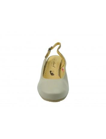 Sandały skórzane Axel 2381,Kolor beż