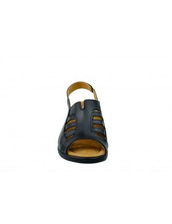Sandały skórzane Axel 176,Kolor czarny