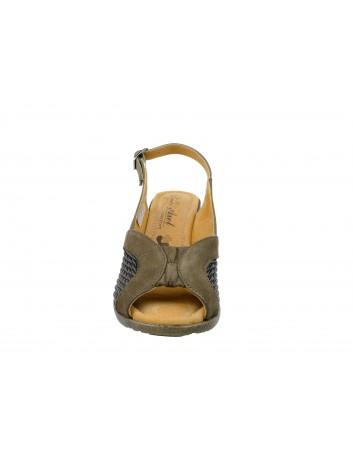 Sandały skórzane Axel 2211,Kolor ciemny brąz
