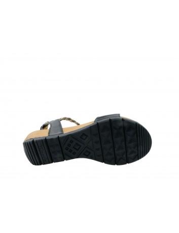 Sandał damski Tamaris 1-28231-22B,Kolor czarny