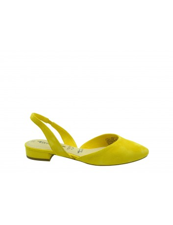 Sandał damski Tamaris 1-29401-22S,Kolor żółty