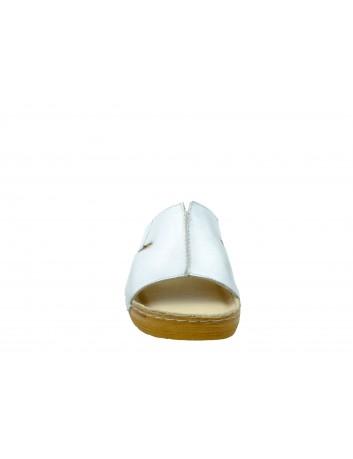 Skórzany klapek damski Stella SK 837/1 biały