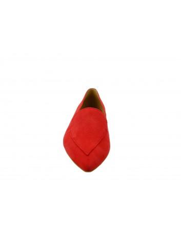 Czółenko damskie SZYDŁOWSKI DAR 2087, Kolor czerwony