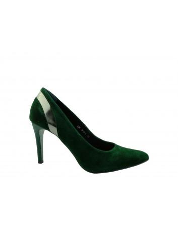 Szpilka damska SZYDŁOWSKI 2919-4, Kolor zielony
