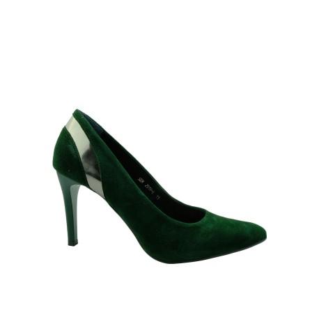Czółenko damskie SZYDŁOWSKI DAR 2919-4, Kolor zielony