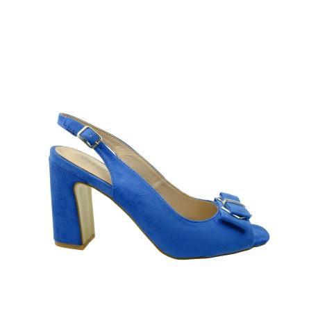 Sandał damski VINCEZA 19-17006, Kolor niebieski