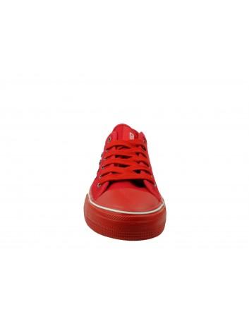 Trampki damskie BIG STAR DD274614, Kolor czerwony