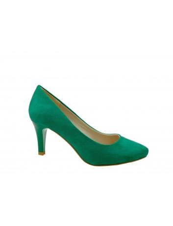 Szpilka damska SERGIO LEONE1377, Kolor zielony