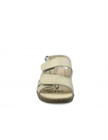 Skórzany sandał T.Sokolski OC 123-N40, Kolor beżowy