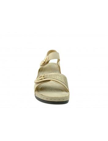 Komfortowy sandał T.Sokolski BZ 8409-KL1N,Kolor beżowy
