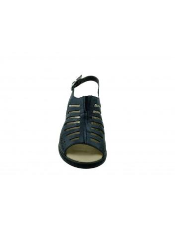 Sandał damski Rieker V0559-14P, Kolor czarny
