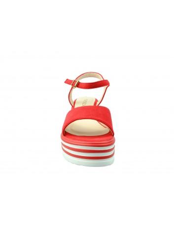 Sandał damski VINCEZA 19-4548,Kolor czerwony